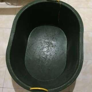"Banyera ""OVAL"" Oblong used as Plant Box Pool Trash Bin"