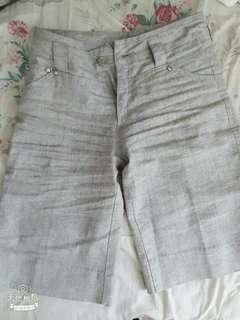 🚚 時尚氣質灰 貴婦熟女五分褲