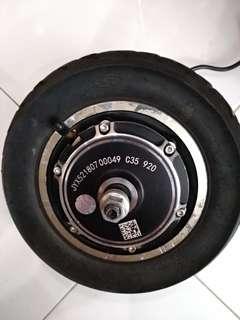 JYX 52v 500w (peaked 800w) Gear Motor 10inch