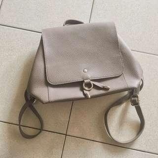 Leather backpack Usupso