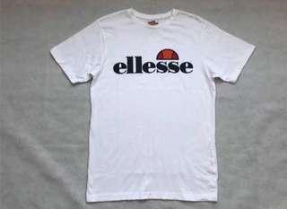 Authentic ellesse classic logo shirt (last few pieces left,)