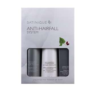 Amway Set of 3 - SATINIQUE Anti-Hairfall Pack (3 items/pack)