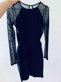 Miss Selfridge Black dress
