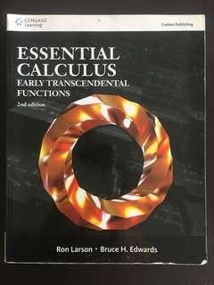 🚚 微積分 Essential Calculus