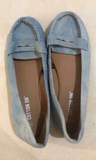 Cotton On Light Denim Flatshoes