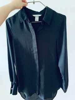 H&M black shirt