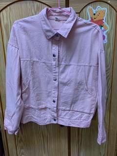 🚚 粉色薄襯衫🌸