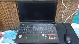 LAPTOP GAMING MSI 1060 3gb
