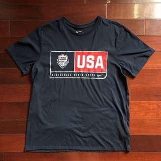 🚚 NIKE USA DREAM TEE 美國隊 奧運 夢幻隊 深藍