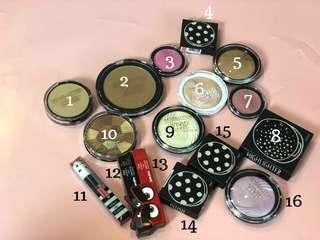 ALL 50k ONLY / pc New Makeup Revolution, Topshop, dll