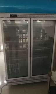 Large size 2 door chiller