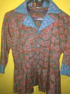 Baju batik wanita