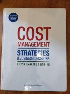 🚚 Cost Management Strategies for Business Decisions 4e
