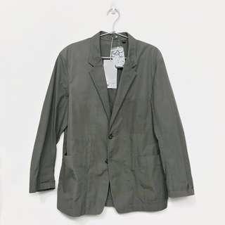 Uniqlo U Cotton Jacket Olive (Size S)