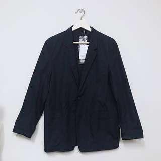 Uniqlo U Cotton Jacket Navy (Size S)