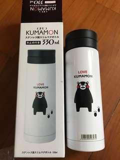 全新 熊本熊 kumamon 保溫杯 330ml