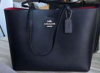 New Genuine Coach Shopper Bag - Black