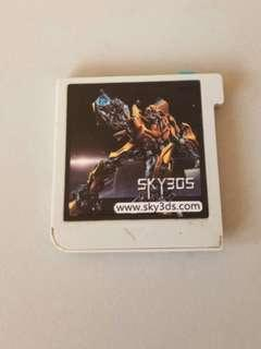 Sky3ds blue button 16gb