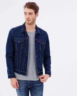 「全新」levi's denim jacket 牛仔外套 原色丹寧 levis 72334-0147 723340147