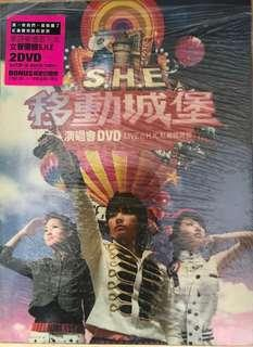 "S.H.E. DVD ""Together 新歌+精選"""
