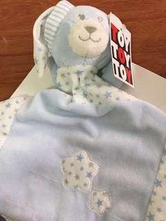Baby toy towel with bear