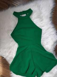 Beautiful green romper