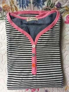 Kaos Lengan Panjang Wanita [Remaja] umur: 11-13 tahun