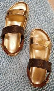 LV Odyssey Sandals Size 36.5