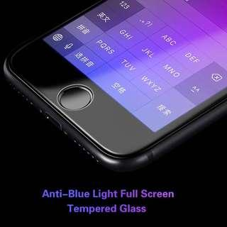 Iphone Tempered Glass 3D HD 9H Anti Blueray Glass