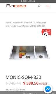 Monic Stainless Steel Sink ( Professional )