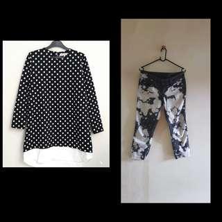 Cotton Ink Raisa Polka Dress Buy 1 get 1 Free