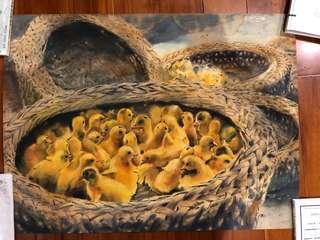 水彩畫 作者 佚名 個人覺得很棒的畫