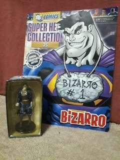 Bizarro - Eaglemoss Dc Comics Villains Figurine