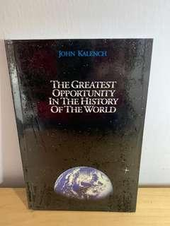 🚚 [Network Marketing] The Greatest Opportunity in the History of the World by John Kalench