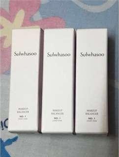 Sulwhasoo Makeup Balancer 彩妝平衡煥膚精華液sample