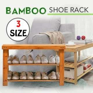 FREE DELIVERY!!! Shoe Rack / Shoe Bench / Bamboo Shoe Holder