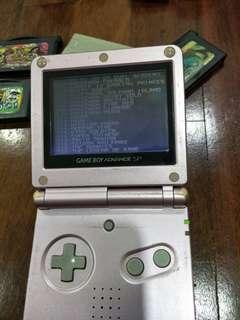 Nintendo Gameboy Advance SP+games