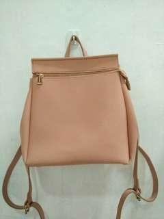 MINISO Pink Backpack