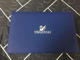Swarovski watch and bracelet