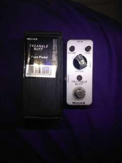 Mooer guutar effect efek gitar fuzz triangle buff