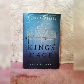 King's Cage (Red Queen Book 3) BNEW SEALED