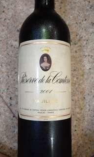 Red wine, Bordeaux