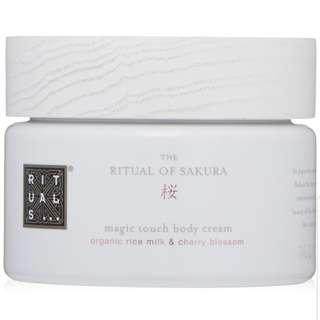 Rituals Organic Milk & Sakura Body Cream 220ml