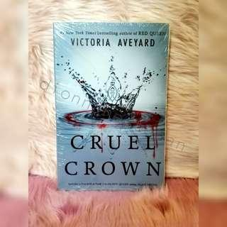 The Cruel Crown (Red Queen Novella) BNEW SEALED