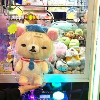 鬆弛熊 奶油熊 日本正版 公仔