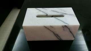 手工大理石面紙盒