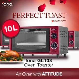 IONA 10L Oven Toaster / Griller / Oven / Baker / Baking / Oven
