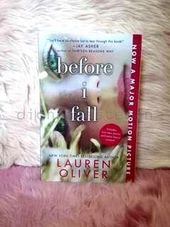 Before I Fall (BNEW SEALED!)