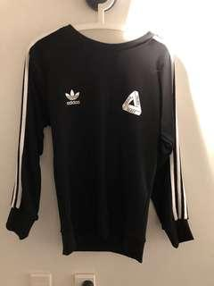 Adidas x palace crewneck M