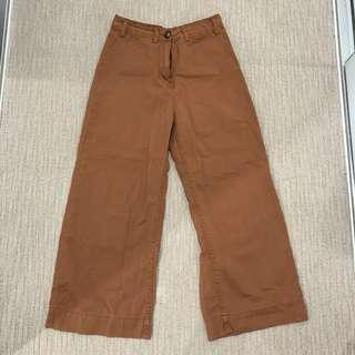 GLASSONS - BROWN PANTS (very flattering on figure)
